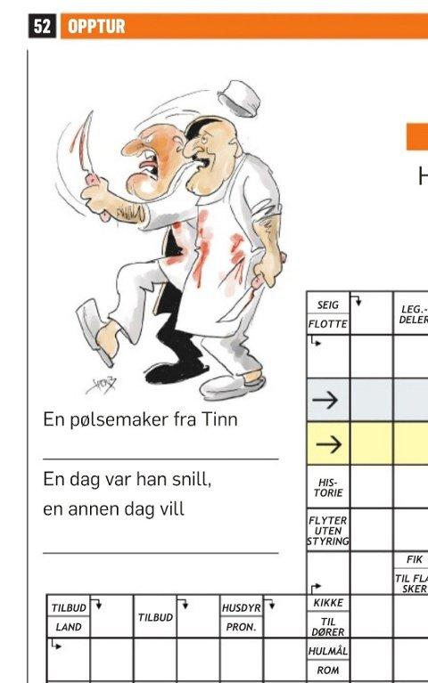 Dagbladets kryssord