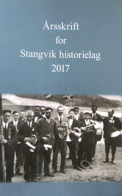 INNHOLDSRIKT: Mye interessant stoff i årsskriftet fra Stangvik Historielag.