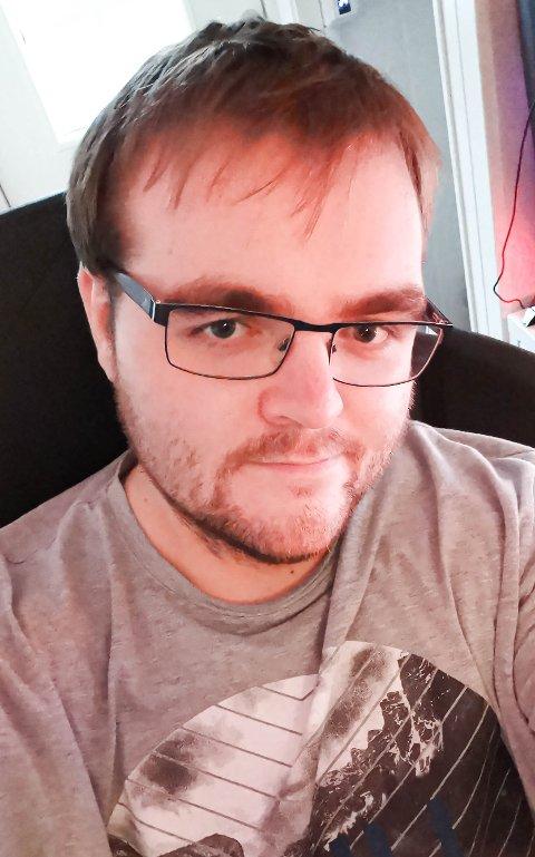 DAGLIG LEDER: Magnus Aspeholen (26) fgra Vestfossen har tidligere erfaring fra Din Følgebil og Xpress AS. Nå blir han daglig leder i Drammen bud og vare.