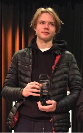 Norgesmester Isak Sjøberg fra Nordstrand