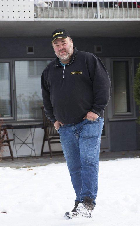 UTLEIER: Kim Steinsholt eier flere boliger i Oslo og i Vestfold som han leier ut. Her er han i Oslo, hvor han eier to leiligheter. FOTO: NTB scanpix