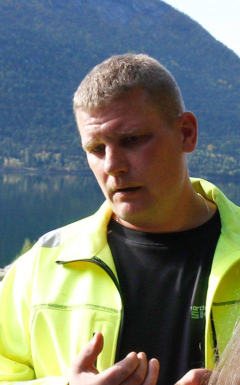Sverre Anton Sunde,  dagleg leiar Åland industriområde