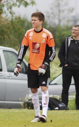 God: Keeper Håkon Greva spilte stort og var lagets beste spiller i kvalifiseringen.