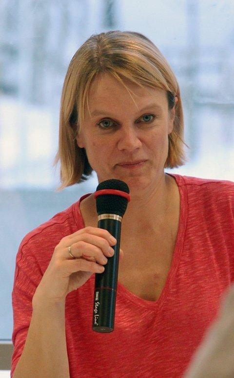 Blitt vant: Nina Sandberg har nok i mange nesoddingers bevissthet vokst inn i rollen som ordfører etter snart fire år.