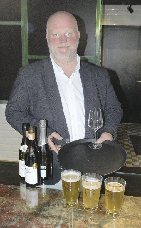 POPULÆRT: Ole Martin Johannessen ser et stort potensial når det gjelder å bruke Matkvartalet til mer enn sted å spise og håper å få i gang mange forskjellige prøvesmakingskvelder utover.
