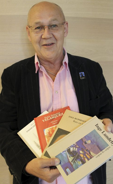Produktiv: Terje Tønnessen og hans BRAK forlag har kommet med fire utgivelser på like mange måneder.