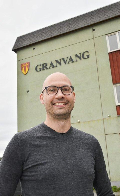 BYTTER BEITE: Kulturskolerektor Kim Stian Gjerdingen Bakke gir seg i Gran kommune og skal fra april jobbe som rektor for Asker kulturskole.