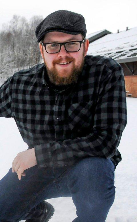 FORNØYD: Kristoffer Mosfjeld ser fram til vinteren og vårens konserter.