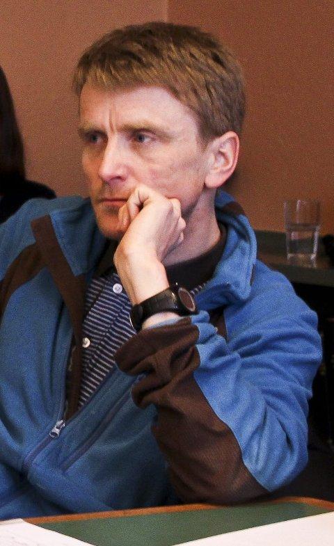 Prosjektleder Arild Hegreberg.