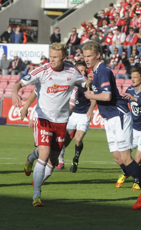 FORTID: Ole Strømsborg fikk 24 obligatoriske A-kamper i FFK.