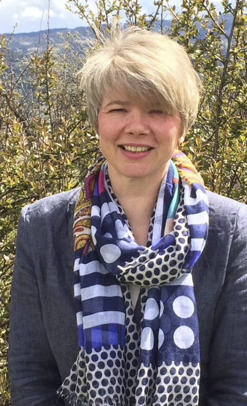 – LETT VALG: Elisabeth Raastad Kjørven starter høsten 2015 som ny rektor ved Sanne skole, der hun selv tråde sine baneskolesko. FOTO: PRIVAT
