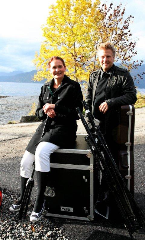 Konsert: Lajla Renate Buer Storli og John Ole Morken har fått med seg Knut Hamre og inviterer til konsertturné i  Hardanger. Arkivfoto: Mette Bleken