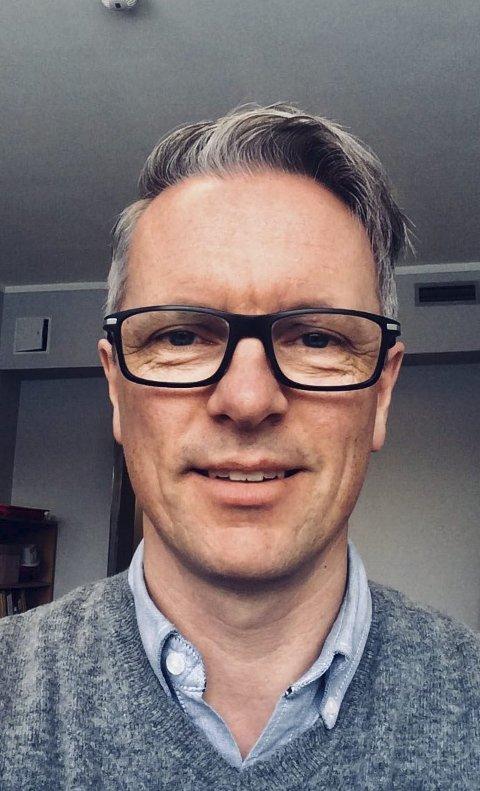 Friskere liv: Rune Svåstad, forebyggende sykepleier, Svelvik kommune. foto: privat