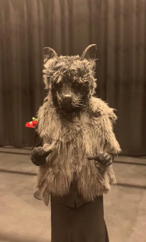 HVEM ER DETTE?: Lørdag 18. september blir identiteten til Ulven avslørt. Men frem til da kan folk være med på å gjette hvem det er som skjuler seg bak masken.