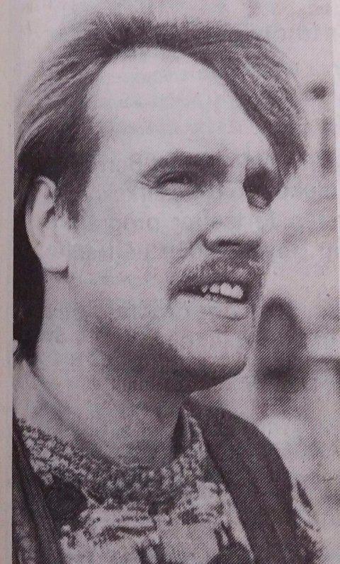 1986: Pieter Kentrop fra 5 på gata i Ringerikes Blad 1986.