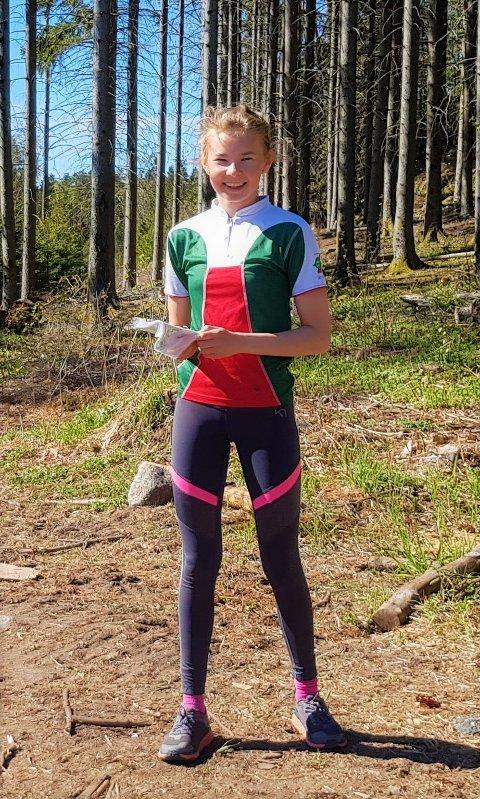 STERK PRESTASJON: Maren Sofie Fremstad fikk en kjempesterk 4. plass på sprinten i helgen.