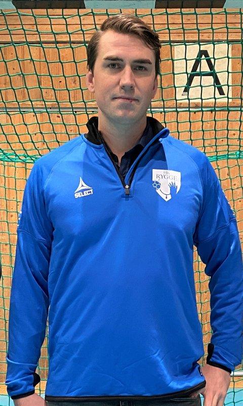 Patrick Braarud blir trener for HK Rygges damelag.