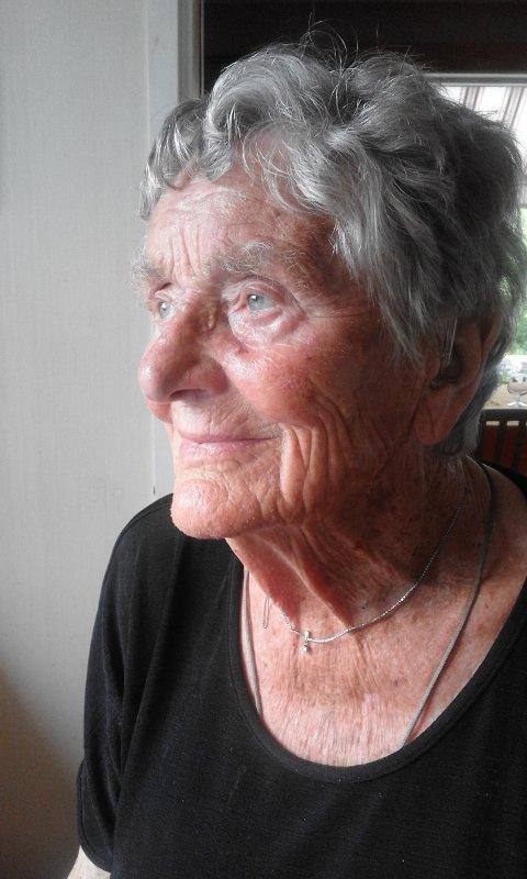 MUSEUM I USA: Hanne Wewer Melby (95) fra Danmark er kjøpt inn i et museum i USA og bor i Oslo den dag i dag.