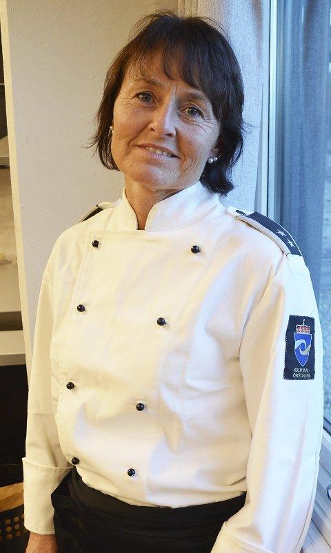 KRIMINALOMSORGEN: Ny arbeidsgiver for Kari Anne Myrdal Moen og ny arbeidsuniform.