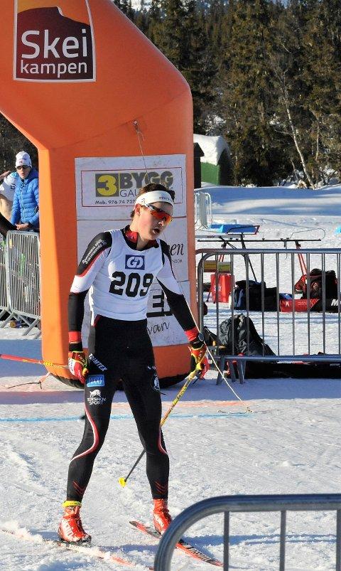 LOVENDE: Peder Elias Nordseth fra Snertingdal vant begge rennene på Skeikampen, men har veldig lyst til å måle krefter med de beste i landet.