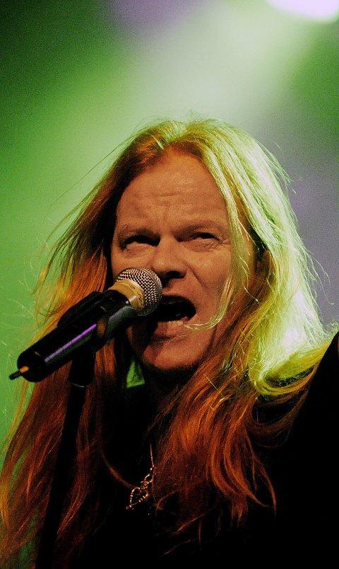 Rock'n'Roll: Eirikur Hauksson er en av garantistene for at det blir rock'n'roll på Rolvsøy 13. august. Arkivfoto: JON OLAV NESVOLD