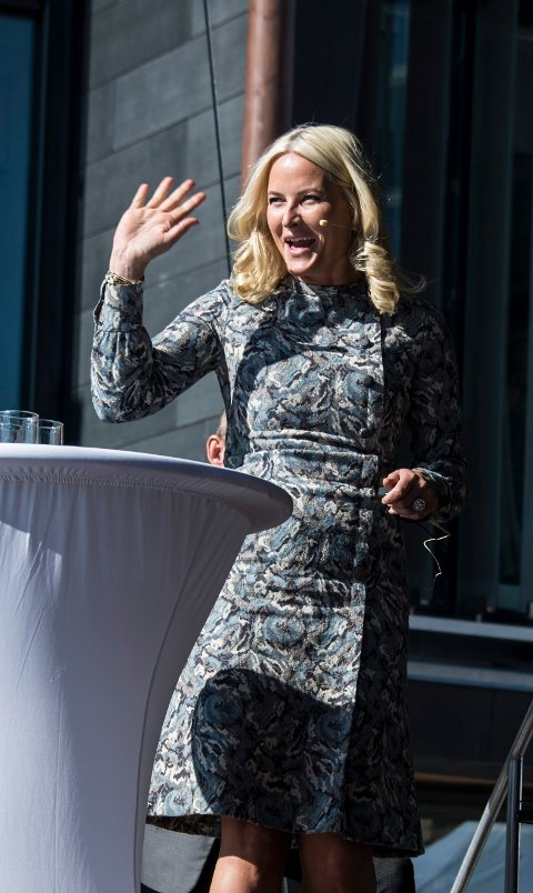 Beskytter: Kronprinsesse Mette-Marit har sagt ja til å være beskytter av Håpets katedral.