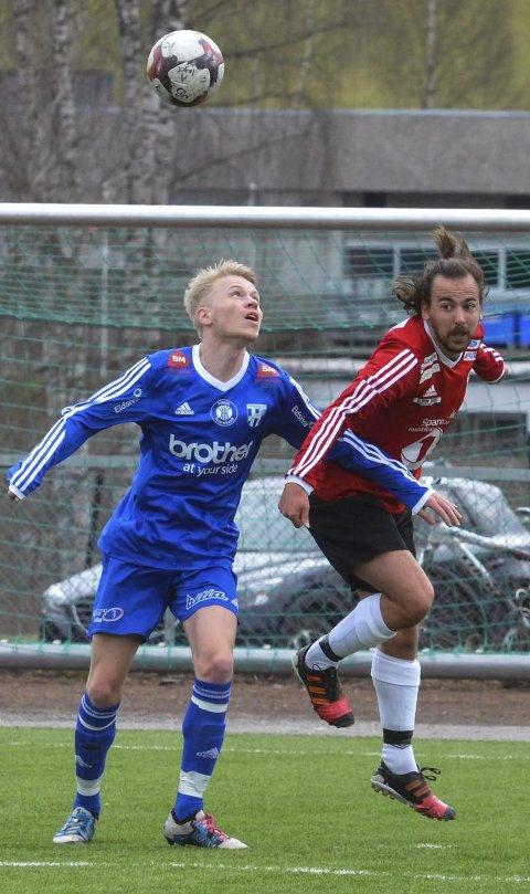 KVALIK: Mikkel Berg og resten av 5.divisjonslaget til Lunner FK møter Leiret til kvalikkamp.
