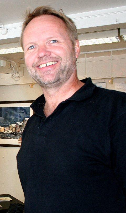 TILFREDS: Stig Ove Sivertsen er fornøyd med avviklinga av årets Galleria.