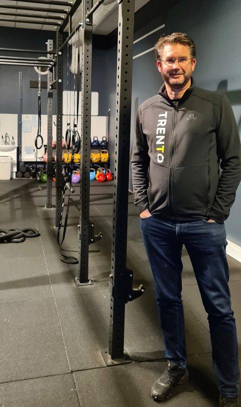 UTVIDER: Daglig leder i Trento, Stig Nyengen, kjøper enda ett treningssenter.