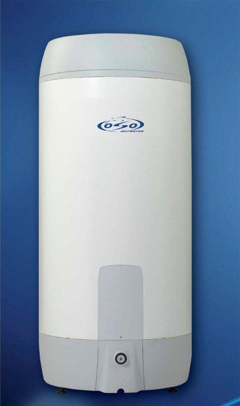 --  20160518. Oso Hotwater advarer norske husstander om en feil på selskapets varmtvannsberedere som kan føre til overoppheting og brann.  Bildet viser en Super Standard S. Det finnes flere størrelser av denne, og mange av dem har feil i komponenten som kan føre til brann,.  Foto: Oso Hotwater / NTB scanpix