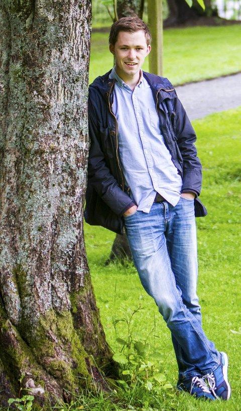 GIR SEG: Emil André Erstad gir seg etter to periodar som leiar for KrFU. arkivfoto yngve G. Svardal