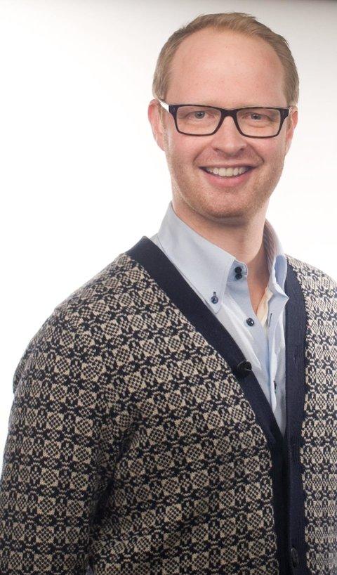 Distriktsmusiker og tillitsvalgt MFO Sørfold Sveinar Aase.