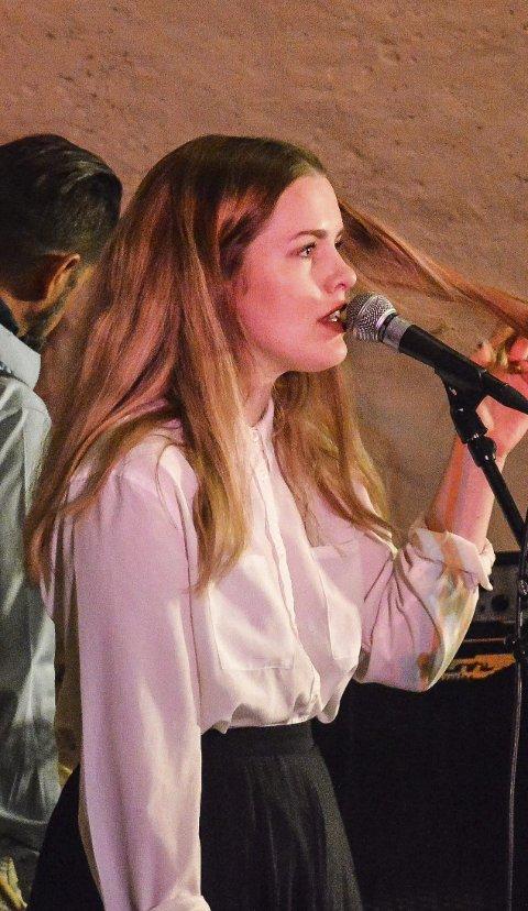 Ny: Sanne Kvitnes tilførte Taube-konserten noe nytt.