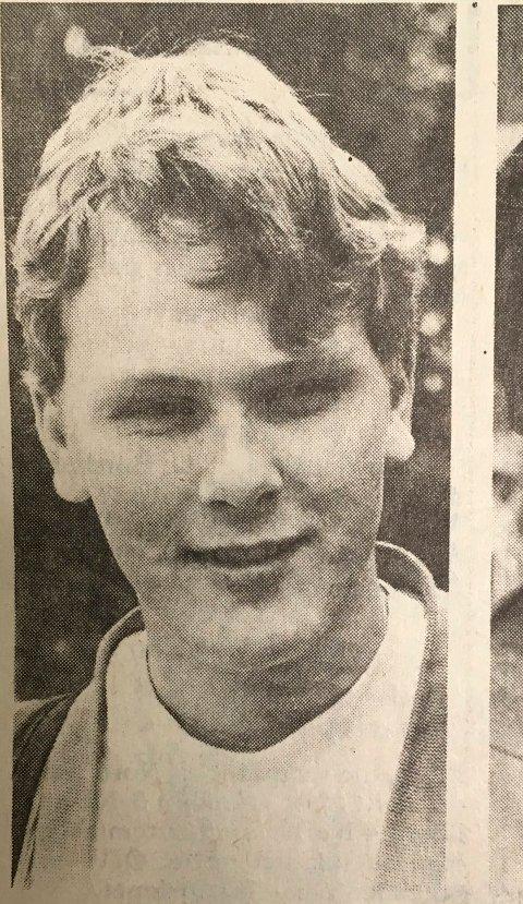 1986: Håvard Rustad for 33 år siden.