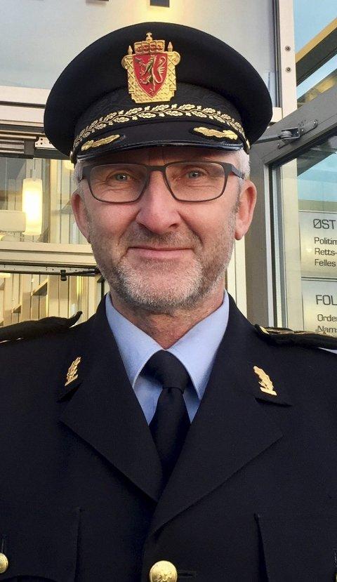 PLANLEGGER: Politiinspektør Olav Unnestad i Øst politidistrikt.FOTO: ØSTLANDETS BLAD