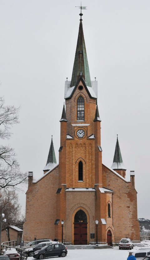 SAMLOKALISERING: Kirkelig fellesråd i Kragerø vil samlokalisere administrasjon med kommunenes øvrige administrasjon.