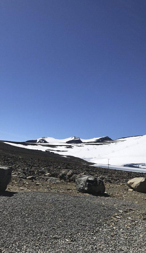 I fjellheimen: Turen gikk til Galdhøpiggen.
