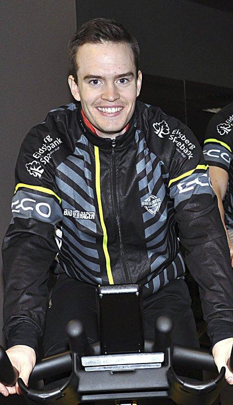 INDIVIDUELT: Andreas Minge skal også sykle individuelt i NM.