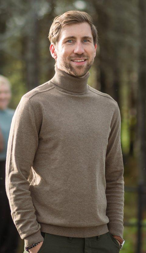 DAGLIG LEDER: Eirik Bøe Sletten (36) går inn som daglig leder i W Initiative og ser frem til å komme i gang med arbeidet.