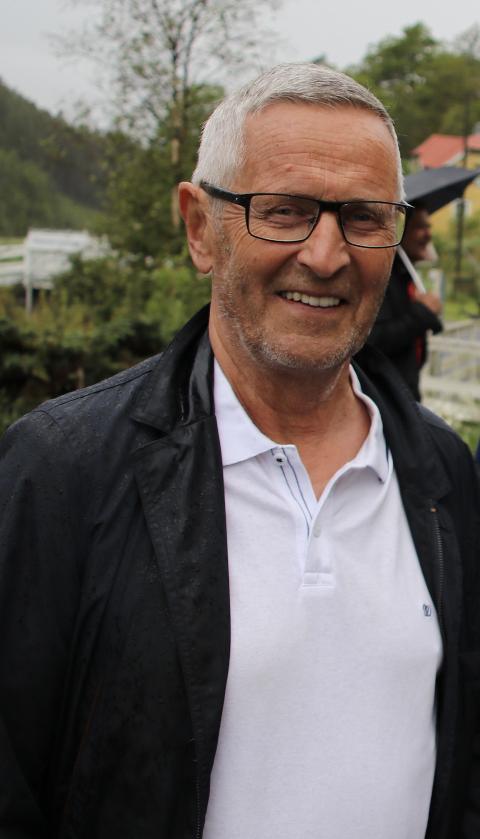 PROTESTERER: Reidar Gausdal, som har hatt rollen som både lokalpolitiker og styreleder av Verneområdestyret for Oksøy-Ryvingen og Flekkefjord landskapsvernområder helt siden de aller første høringsrundene om vindkraftprosjektet, går nå kraftig ut mot prosjektet.