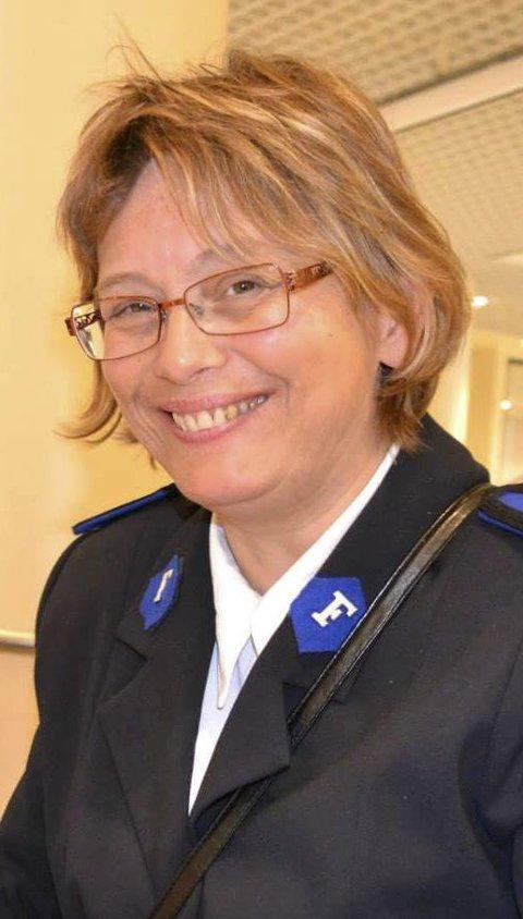 Kurs: Leder for Frelsesarmeen i Kristiansund, Britt Lundin, ønsker å ha både kristne og andre med på kurs.