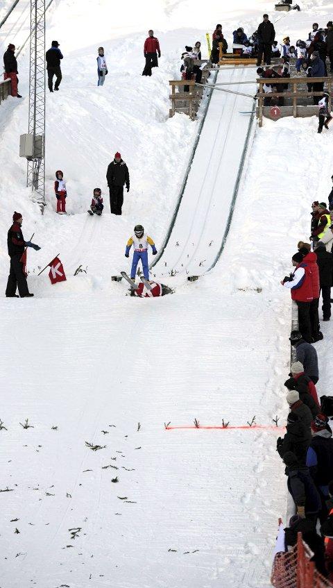 Hopprenn: Lørdag er det renn i Idrettsparken i KIFs regi.
