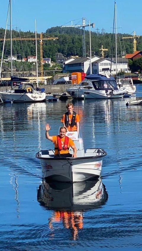 SOMMERBÅTEN: Sommerbåten kjører innom de mest populære stedene i skjærgården.