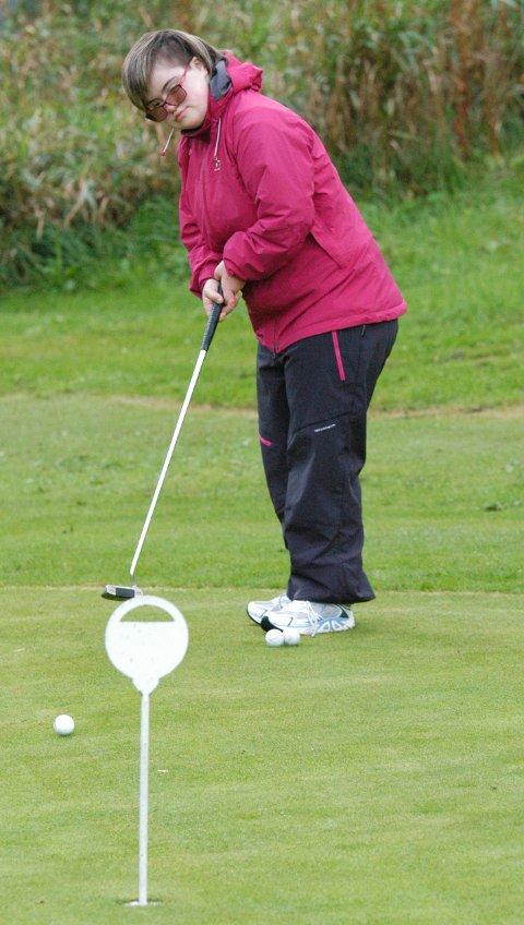 Guri Reitan vil gjerne spille mer golf.