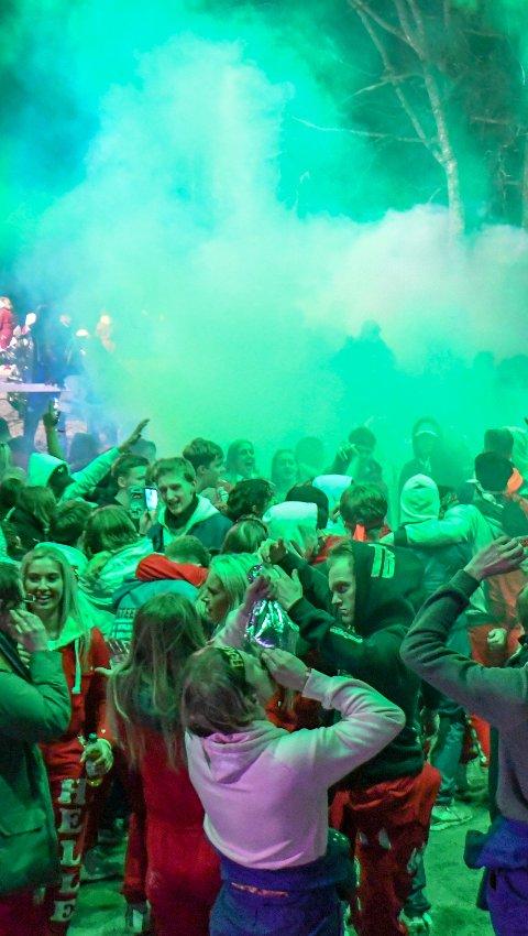 RUSSETIDA: Mange ungdommer i dag planlegger russetida lenge før festen egentlig starter mot slutten av videregående. Her fra fjorårets Landstreff på Fredriksten festning.Foto: Johnny Larsen