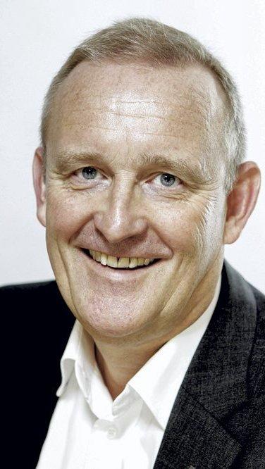 Ole Vinje: – Vi er happy. Foto:  Morten Rakke