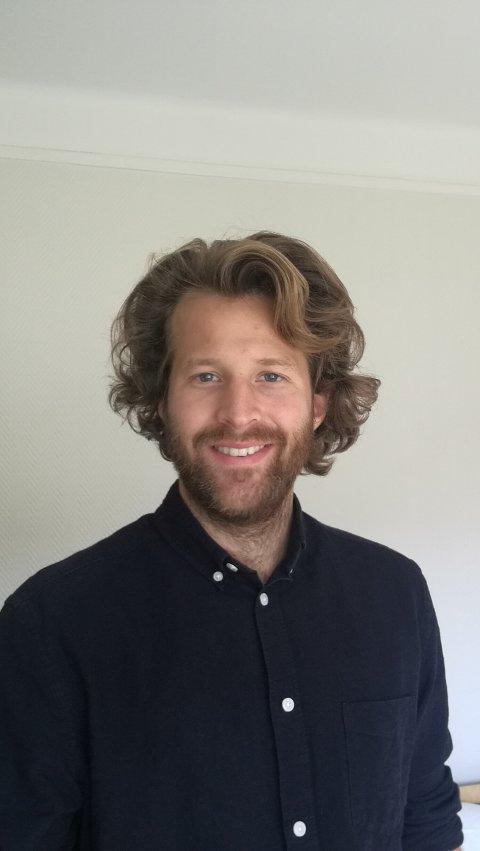 PRESENTERER STUDIEN: Erik Nakkerud deltar på konferansen i miljøpsykologi ved Høgskolen i Innlandet.