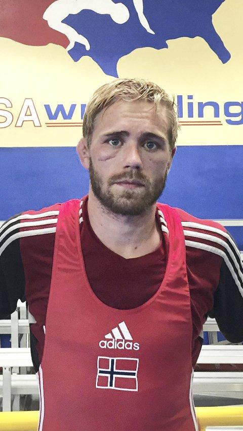 NUMMER TRE: Marius B. Thommesen ble nummer tre i sin klasse under OL-kvaliken i Serbia.