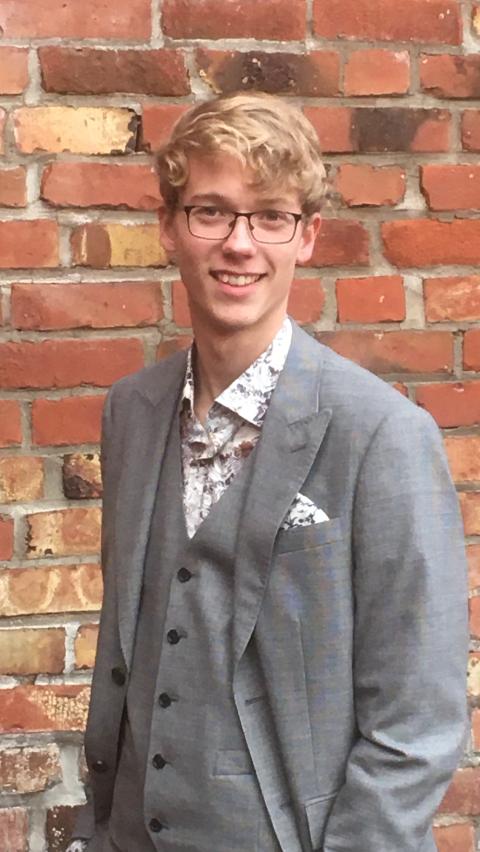 Isak Tværåli Stene, styremedlem Namsos KrFU