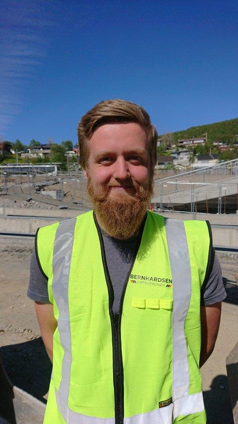 Sander Storjord stakk av med seieren i konkurransen i anleggsmaskinførerfaget.